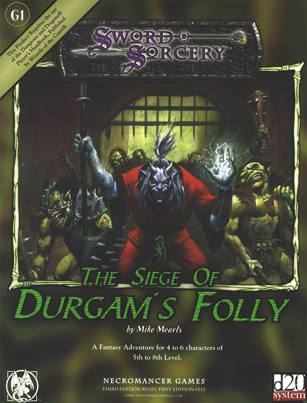 Cover of G1: Siege of Durgam's Folly
