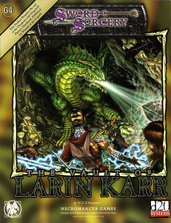 Cover of The Vault of Larin Karr